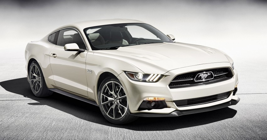 Ford Mustang 50 Year Limited Edition – only 1,964 Image #241851