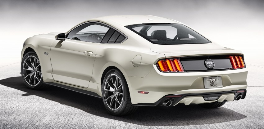 Ford Mustang 50 Year Limited Edition – only 1,964 Image #241850