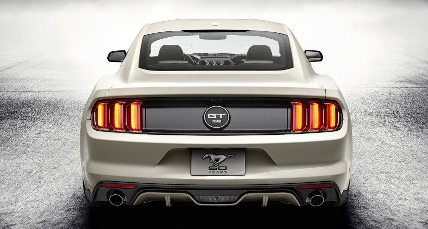 Ford Mustang 50 Year Limited Edition – only 1,964 Image #241849