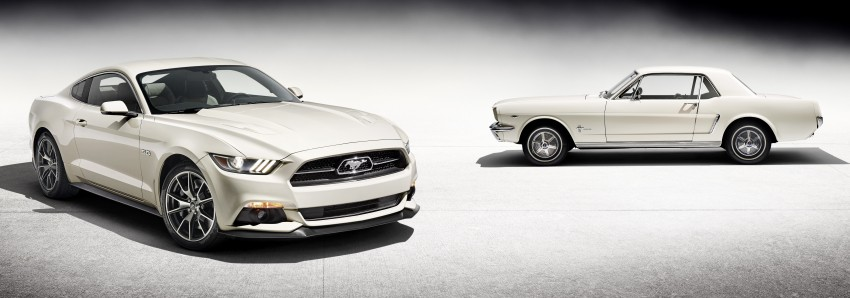 Ford Mustang 50 Year Limited Edition – only 1,964 Image #241830