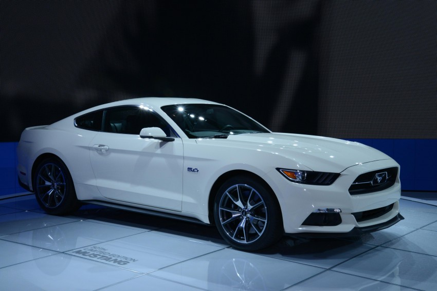 Ford Mustang 50 Year Limited Edition – only 1,964 Image #241828