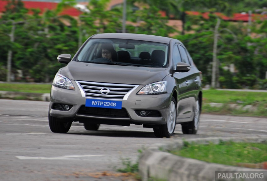 DRIVEN: New Nissan Sylphy 1.8 is a smooth operator Image #242022
