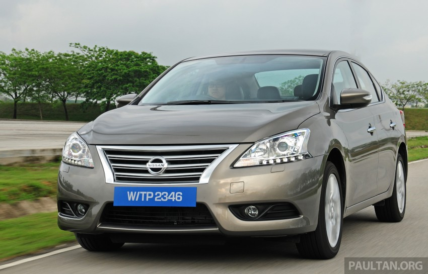 DRIVEN: New Nissan Sylphy 1.8 is a smooth operator Image #242033