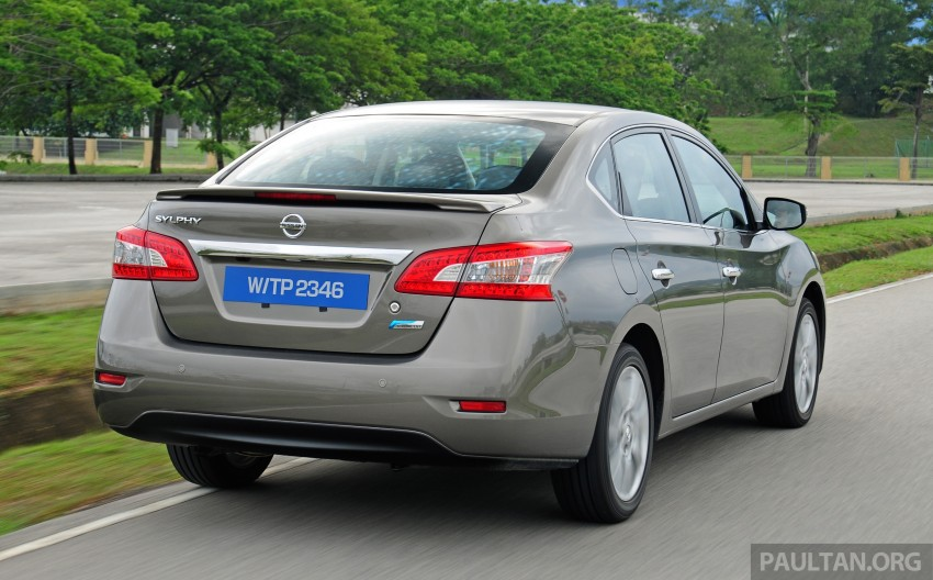DRIVEN: New Nissan Sylphy 1.8 is a smooth operator Image #242035