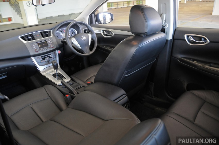 DRIVEN: New Nissan Sylphy 1.8 is a smooth operator Image #242067