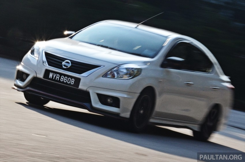 DRIVEN: Nissan Almera Nismo Performance Package Image #243422