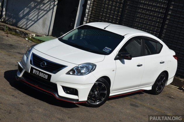 Nissan Almera NISMO Performance Package 10