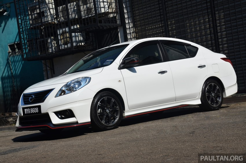 DRIVEN: Nissan Almera Nismo Performance Package Image #243432