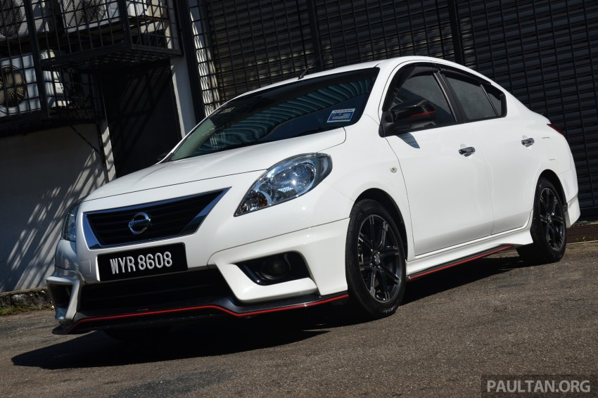 DRIVEN: Nissan Almera Nismo Performance Package Image #243433