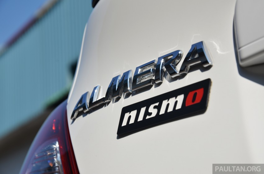 DRIVEN: Nissan Almera Nismo Performance Package Image #243439
