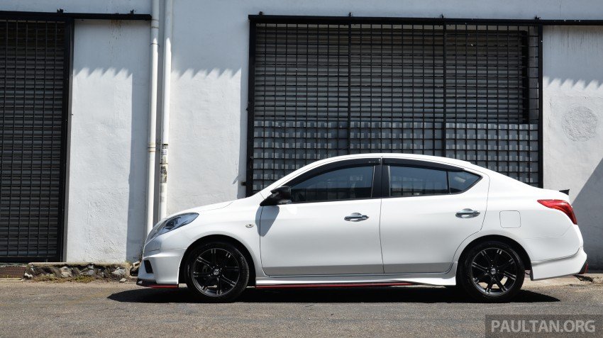 DRIVEN: Nissan Almera Nismo Performance Package Image #243449
