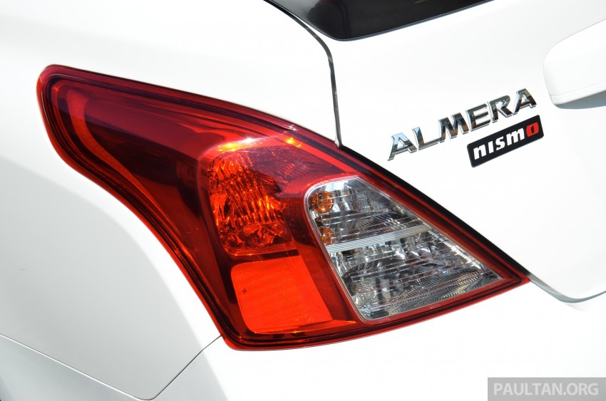 DRIVEN: Nissan Almera Nismo Performance Package Image #243450