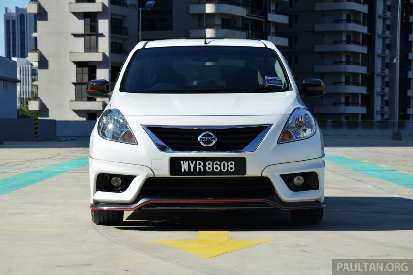 DRIVEN: Nissan Almera Nismo Performance Package Image #243609