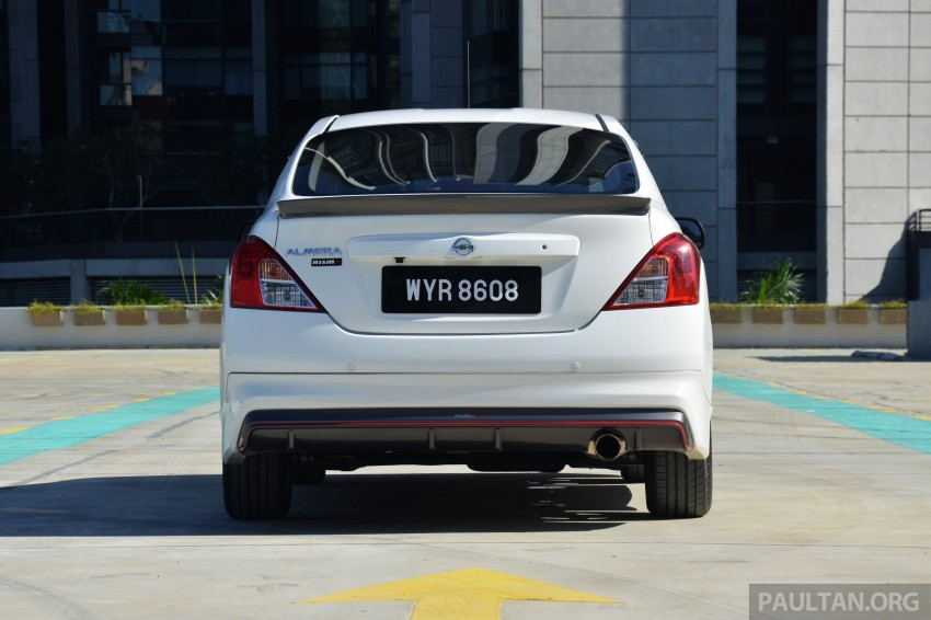 DRIVEN: Nissan Almera Nismo Performance Package Image #243610