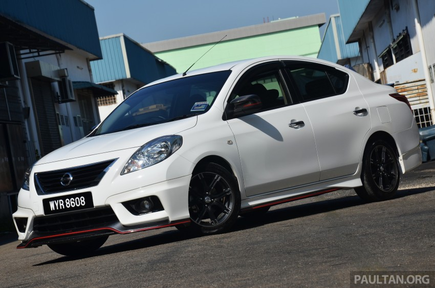 DRIVEN: Nissan Almera Nismo Performance Package Image #243426