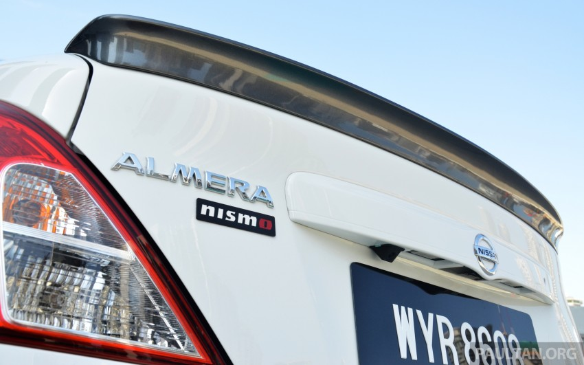 DRIVEN: Nissan Almera Nismo Performance Package Image #243478