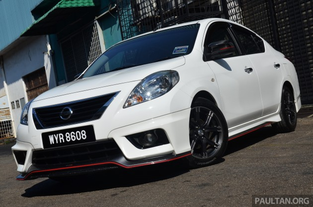 Nissan Almera NISMO Performance Package 6