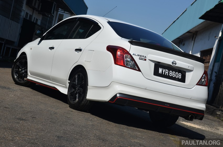 DRIVEN: Nissan Almera Nismo Performance Package Image #243428