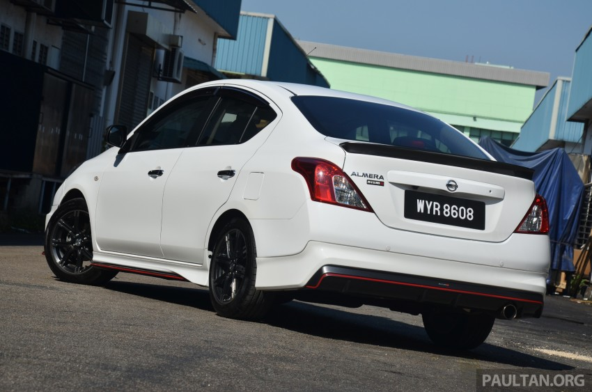 DRIVEN: Nissan Almera Nismo Performance Package Image #243429