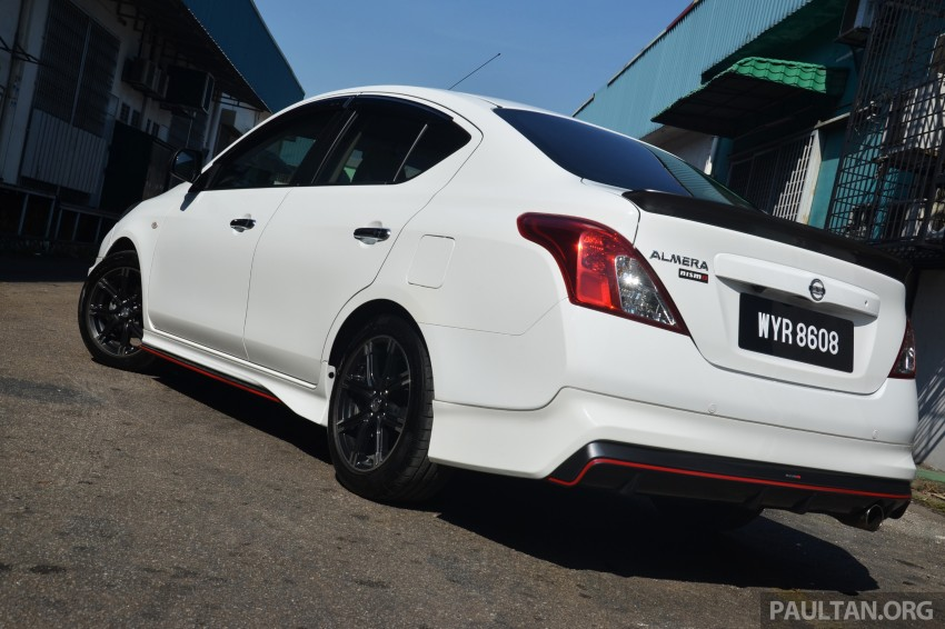 DRIVEN: Nissan Almera Nismo Performance Package Image #243430