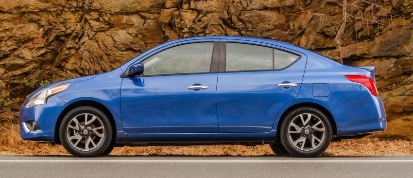Nissan Versa Sedan facelift – an Almera for the US Image #240680