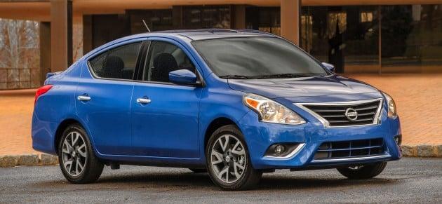 2015 Versa Sedan