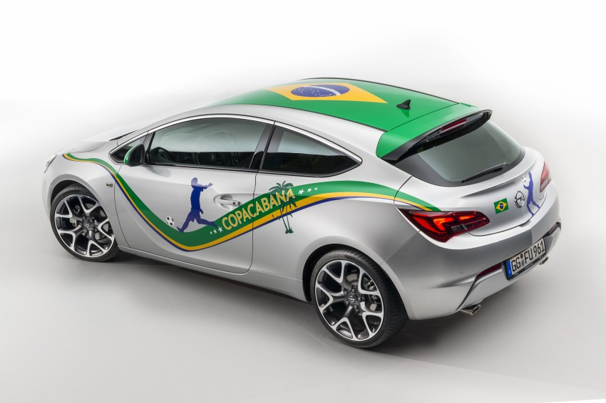Opel Astra Copacabana – in time for World Cup fever Image #238805