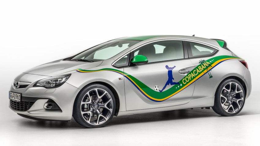 Opel Astra Copacabana – in time for World Cup fever Image #238813