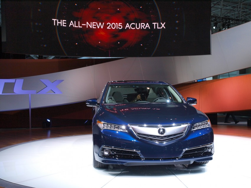 2015 Acura TLX taking the fight to Infiniti and Lexus – offers world's first DCT with torque converter Image #243017