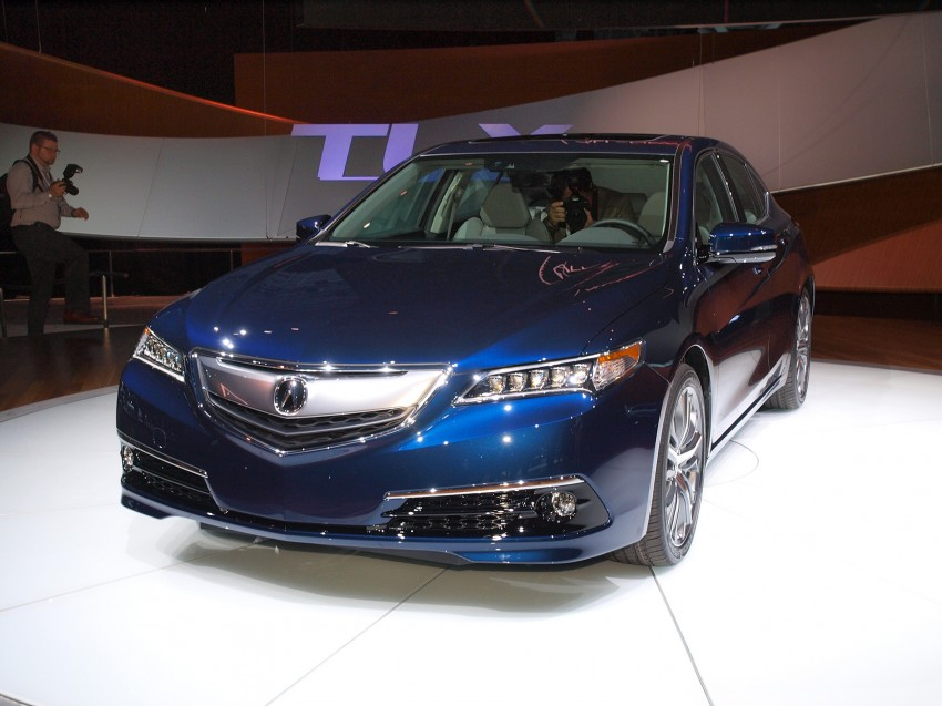 2015 Acura TLX taking the fight to Infiniti and Lexus – offers world's first DCT with torque converter Image #243018