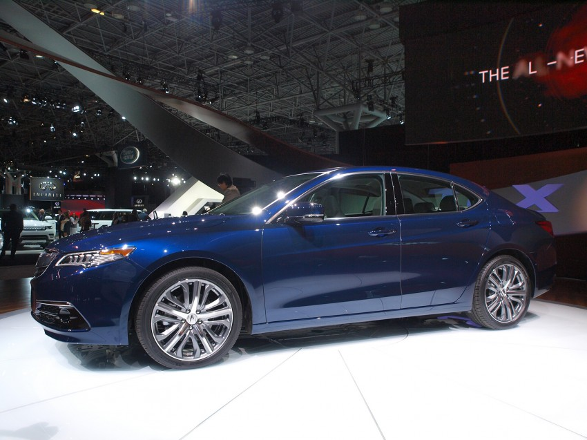 2015 Acura TLX taking the fight to Infiniti and Lexus – offers world's first DCT with torque converter Image #243019