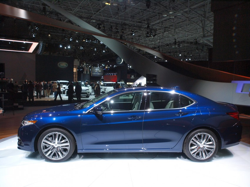 2015 Acura TLX taking the fight to Infiniti and Lexus – offers world's first DCT with torque converter Image #243020