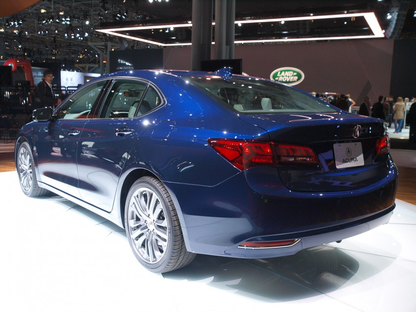 2015 Acura TLX taking the fight to Infiniti and Lexus – offers world's first DCT with torque converter Image #243021