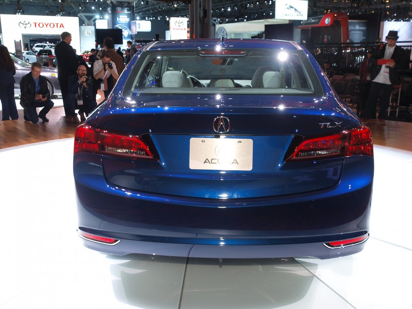 2015 Acura TLX taking the fight to Infiniti and Lexus – offers world's first DCT with torque converter Image #243022