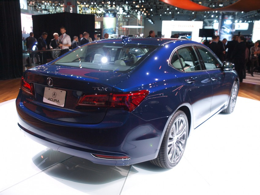 2015 Acura TLX taking the fight to Infiniti and Lexus – offers world's first DCT with torque converter Image #243023