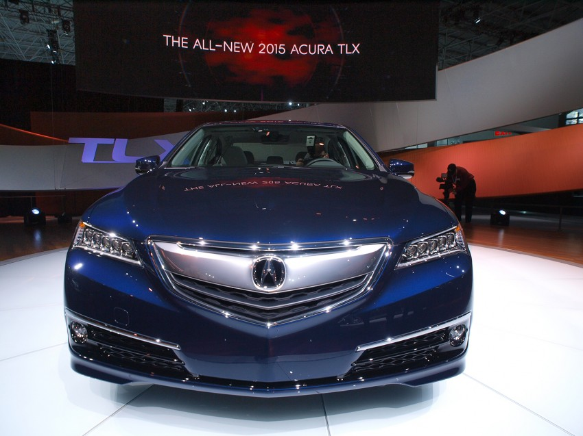 2015 Acura TLX taking the fight to Infiniti and Lexus – offers world's first DCT with torque converter Image #243025