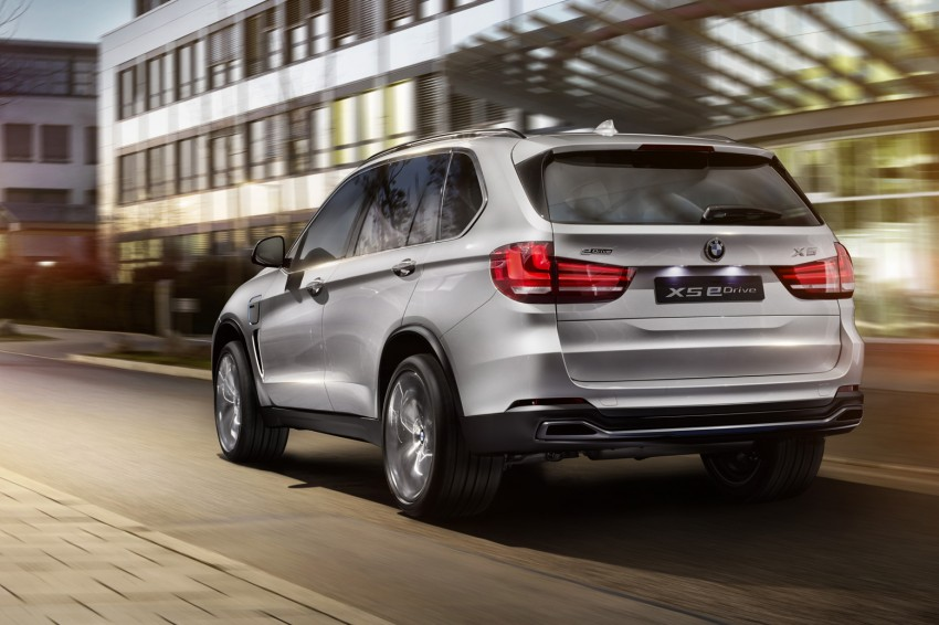 Updated BMW Concept X5 eDrive shown in New York Image #240977