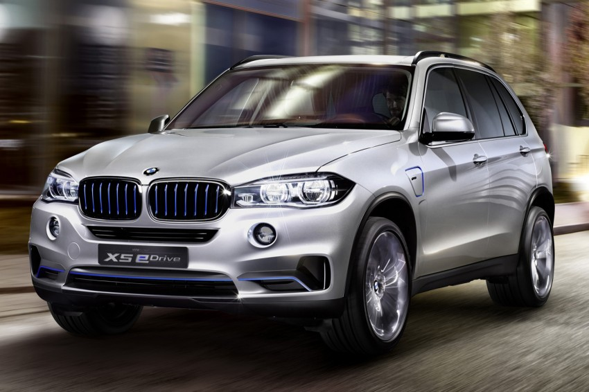 Updated BMW Concept X5 eDrive shown in New York Image #241072