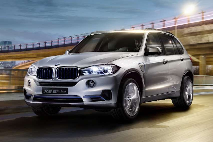 Updated BMW Concept X5 eDrive shown in New York Image #240980