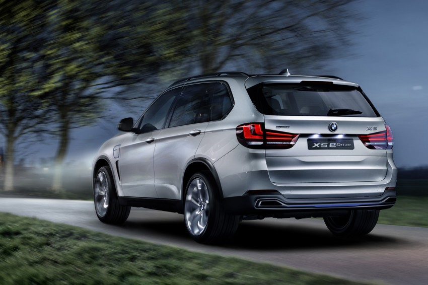 Updated BMW Concept X5 eDrive shown in New York Image #240981