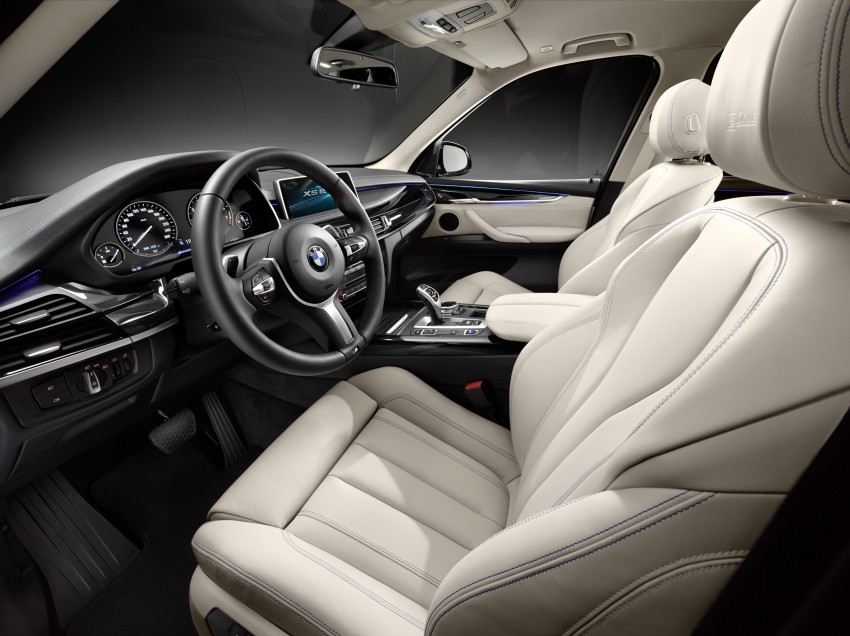 Updated BMW Concept X5 eDrive shown in New York Image #240986