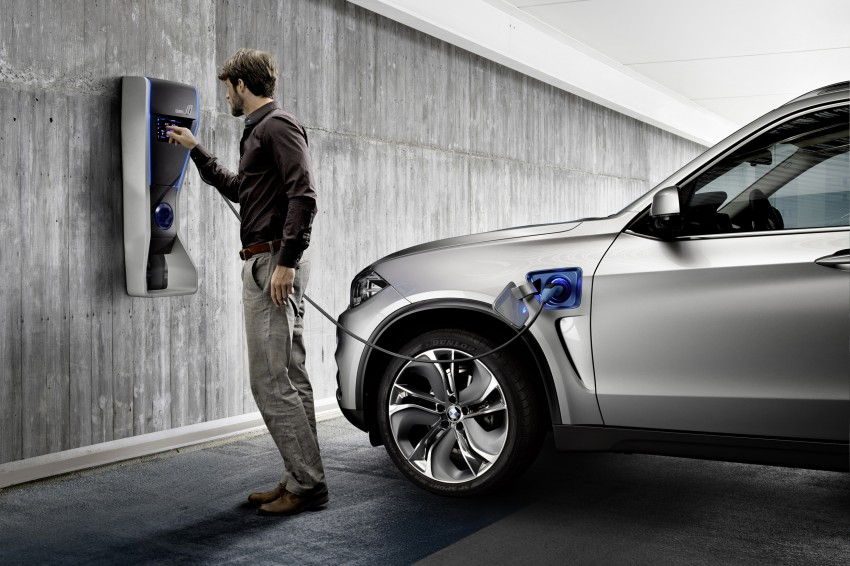 Updated BMW Concept X5 eDrive shown in New York Image #240982