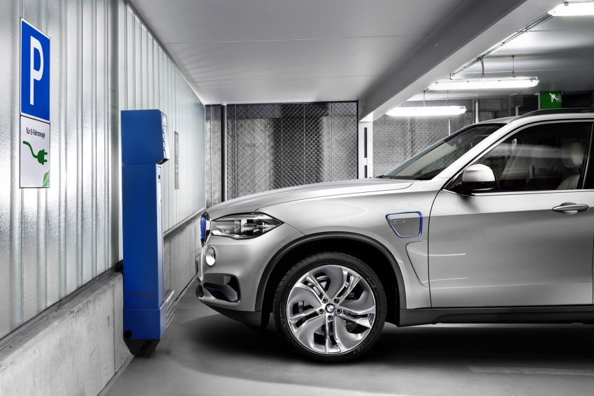 Updated BMW Concept X5 eDrive shown in New York Image #240983