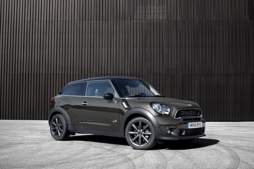 MINI Paceman gets very minor facelift, Beijing debut Image #242527
