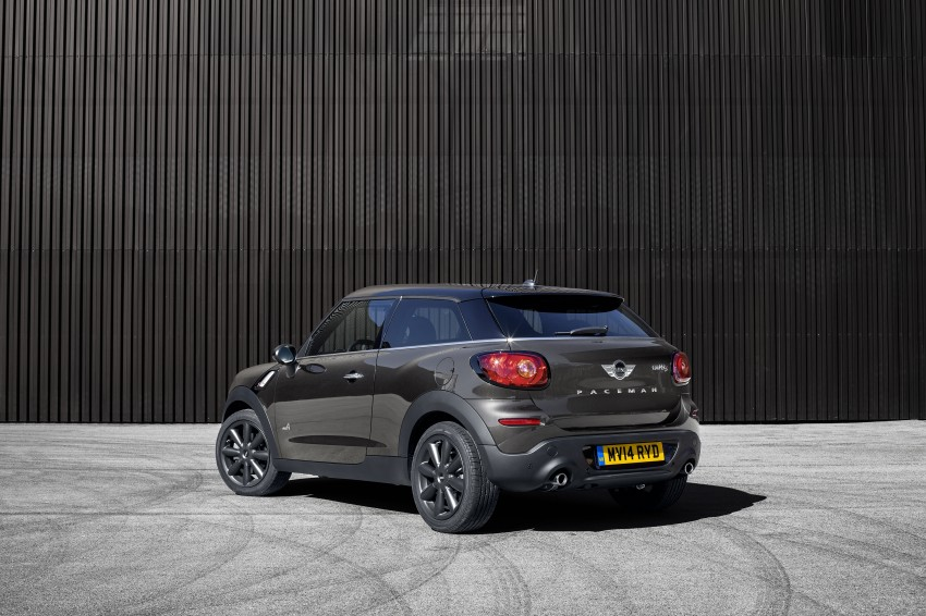 MINI Paceman gets very minor facelift, Beijing debut Image #242528
