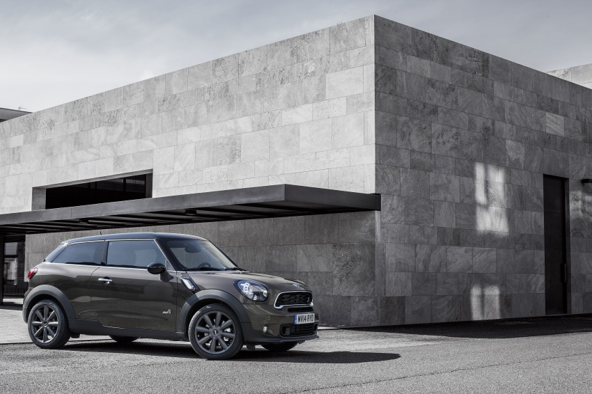 MINI Paceman gets very minor facelift, Beijing debut Image #242524