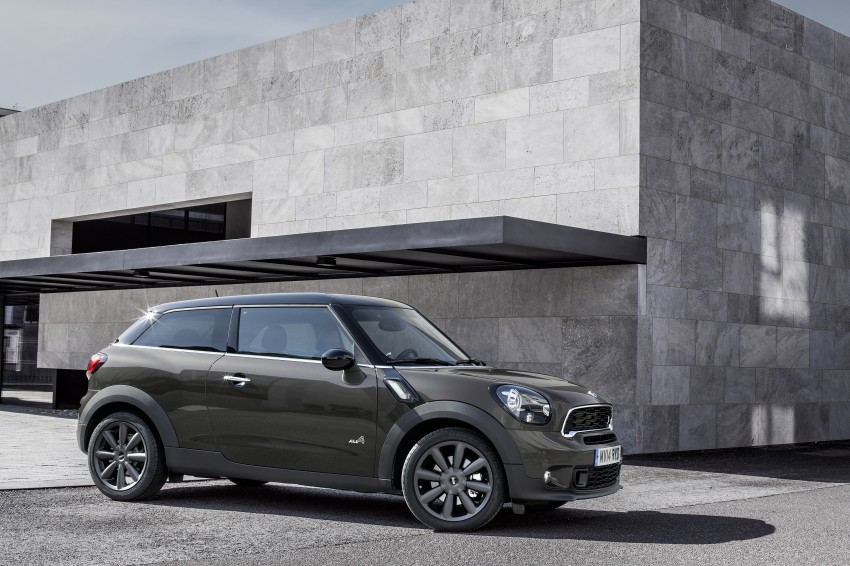 MINI Paceman gets very minor facelift, Beijing debut Image #242525