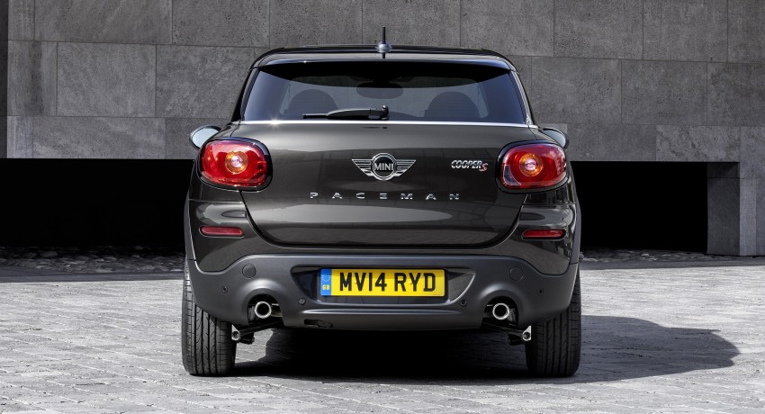MINI Paceman gets very minor facelift, Beijing debut Image #242522