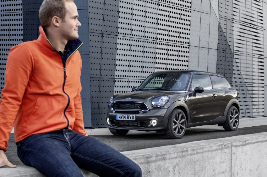 MINI Paceman gets very minor facelift, Beijing debut Image #242519