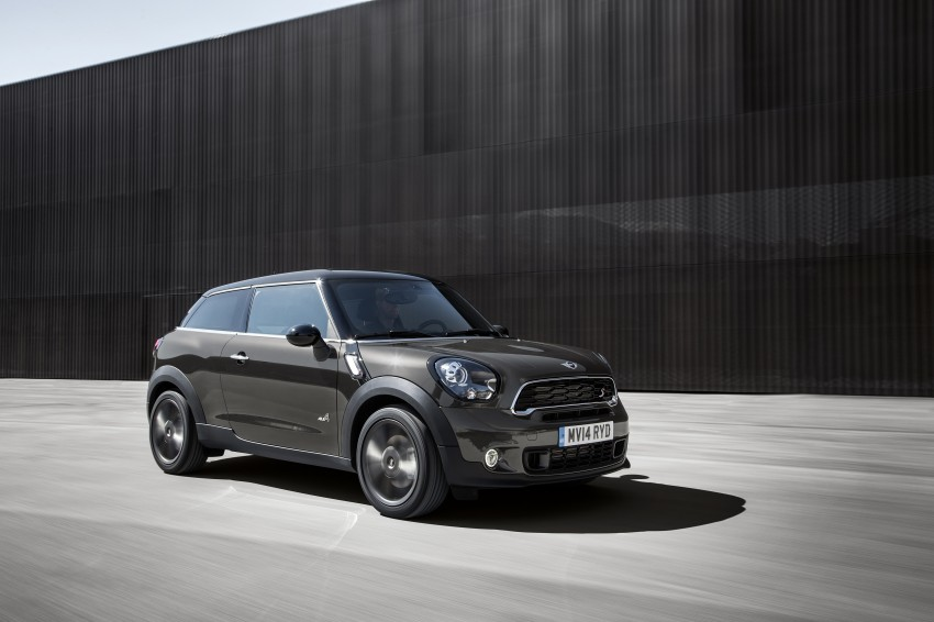 MINI Paceman gets very minor facelift, Beijing debut Image #242510